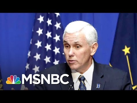 Inside Vice President Mike Pence's Role In A Chaotic White House | Morning Joe | MSNBC