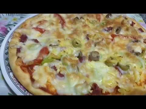 صورة  طريقة عمل البيتزا أسهل طريقة لعمل البيتزا في البيت طريقة عمل البيتزا من يوتيوب