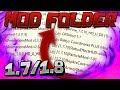 LES MEILLEURS MOD POUR PVP ! - Mod Folder 1.7.10/1.8