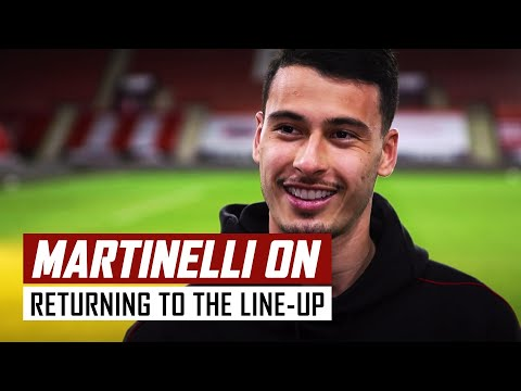 'I'm so tired but so happy!' | Gabriel Martinelli on Sheffield United 0-3 Arsenal