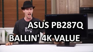 ASUS PB287Q 4K Monitor - The One to Rule Them All