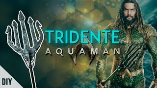 DIY: TRIDENTE do AQUAMAN (Aquaman's Trident) | Dan Pugno