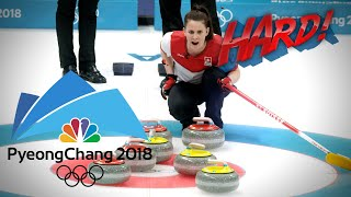 Curling gets the K-pop treatment