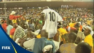 FIFA in Africa: Black Stars lead the way
