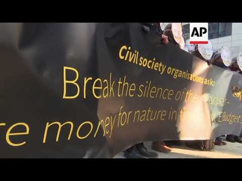 Environmental activists call on EU leaders to fund protection of nature