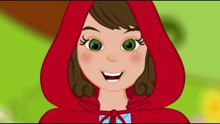 Červená Karkulka animovaná pohádka