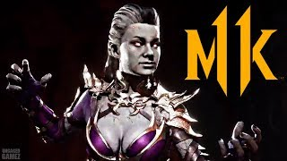 Mortal Kombat 11 - NEW Sindel Victory Outro REVEALED!! (First Look)