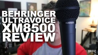 Behringer Ultravoice XM8500 Review/Test