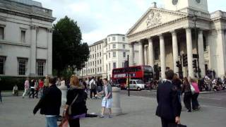 Io no parlo americano -  @ Trafalgar Square, London