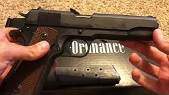 Auto-Ordnance 1911A1 - Out Of The Box Overview - 45 ACP