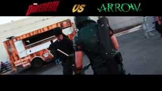 Arrow vs Daredevil at NYCC 2015