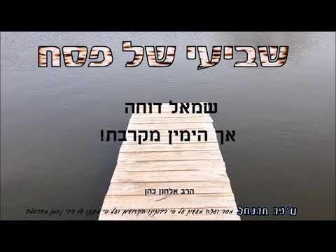 """מה אמר הקב""""ה לשרו של ים סוף? ומה נלמד מזה לחיי היום יום? מסר, עצה מעשית וחידוש לשביעי של פסח"""