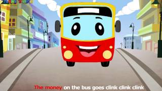 The Wheels on The Bus - Kids Songs