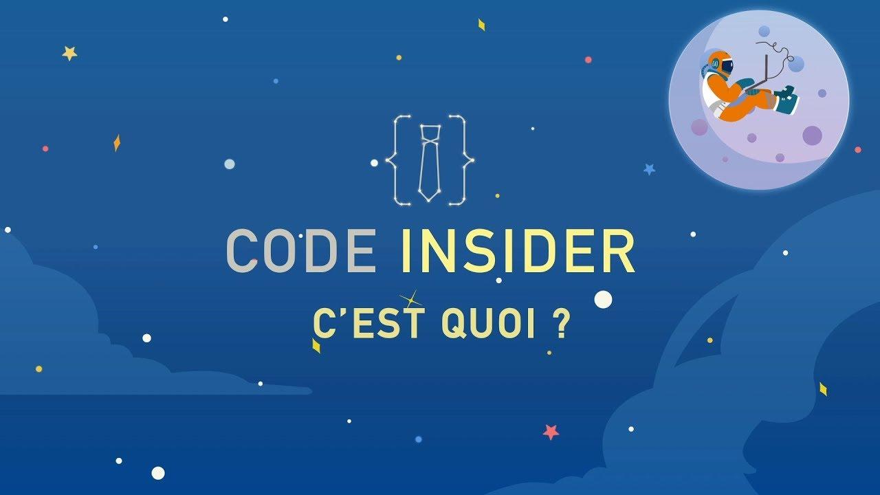 Code Insider : c'est quoi ?
