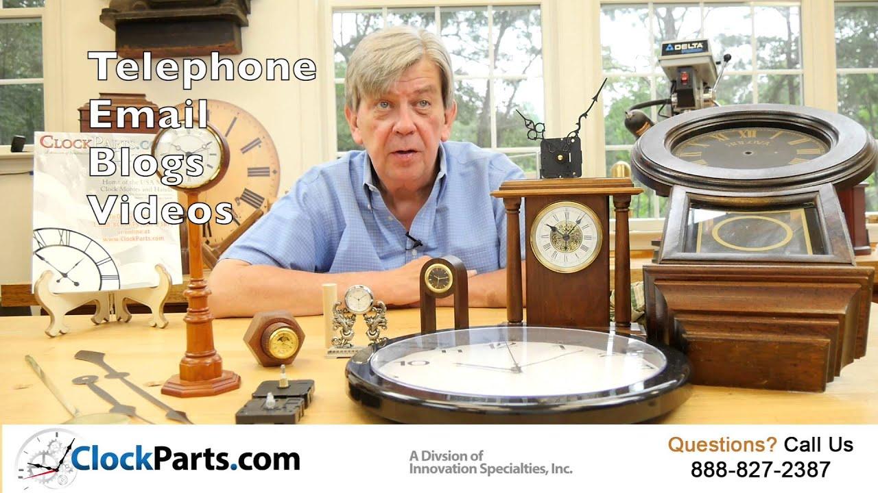Clock Parts Movements Motors Dials Hands and Clock Kits