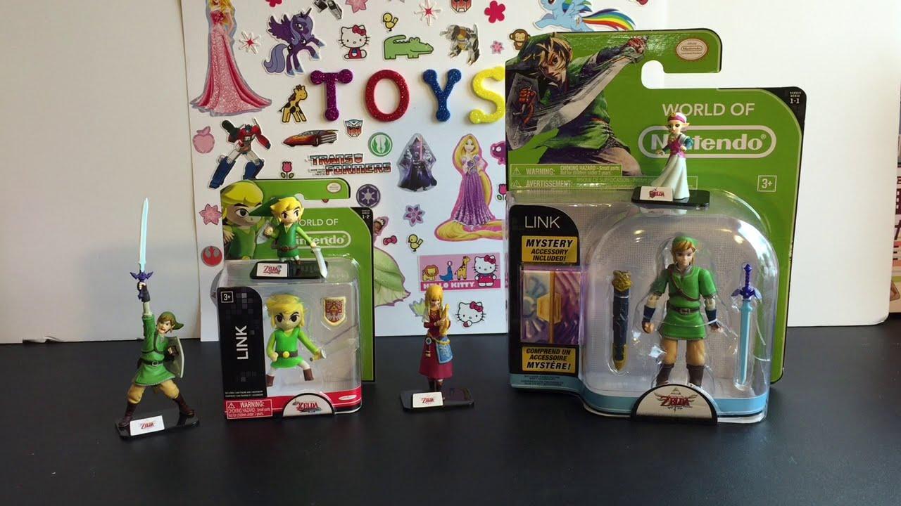 Toy Opening Amp Review World Of Nintendo Legend Of Zelda