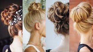 4 stunning easy buns for long hair Kuklalu Compilation
