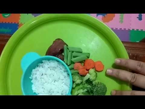 Menu Mpasi / Bubur Bayi 6-8bln || Resep Mpasi 4 Bintang Dengan Baby Safe Food Maker