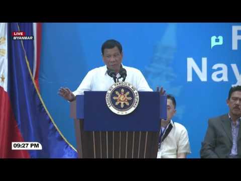 WATCH: Talumpati ni Pangulong Duterte sa kanyang pakikipagpulong sa Filipino Community sa Myanmar