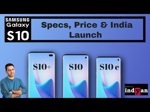 Samsung Galaxy S10 series all details | Specs | Price | India | Hindi
