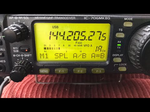 K8OY West Virginia heard in Iowa on VHF 2 meters