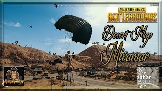 NEW PUBG DESERT MAP- MIRAMAR Gameplay| BUGS & Funny Moments