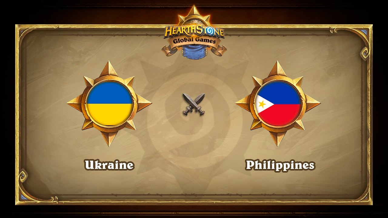 Ukraine vs Philippines, Hearthstone Global Games Group Stage