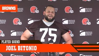 """Joel Bitonio: """"We're just trying to get better every practice."""""""