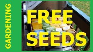 GARDENING - I Received Free Seeds