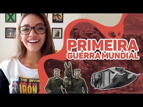 Resumo de História: 1a PRIMEIRA GUERRA MUNDIAL (Débora Aladim)