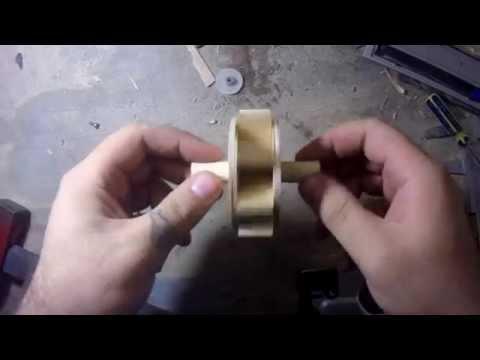 видео: Как сделать комнатный фонтанчик. Часть 1 водяное колесо/how to make the fountain. part 1 waterwheel.