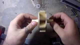 Как сделать комнатный фонтанчик. Часть 1 водяное колесо/How to make the fountain. Part 1 waterwheel.