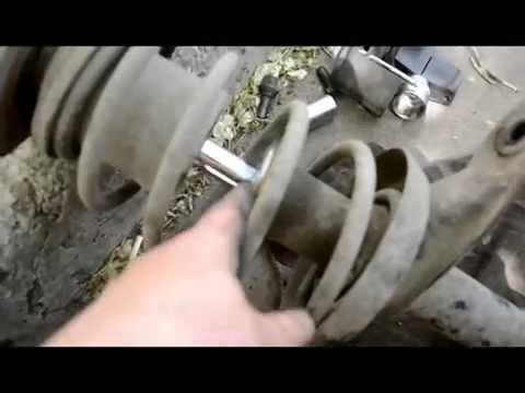 Практика:замена передних амортизаторов-кадет, нексия, ланос