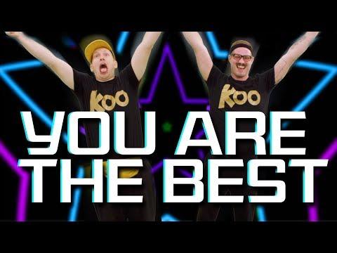 Koo Koo Kanga Roo - You Are The Best (Dance-A-Long)