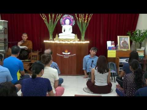 Meditation Course For Beginners (Day-1, 5 Aug 2017) @ Vipassana Meditation Centre Singapore