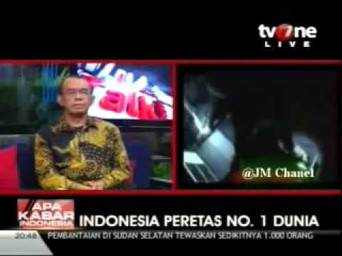 Indonesia Hacker No 1 di Dunia