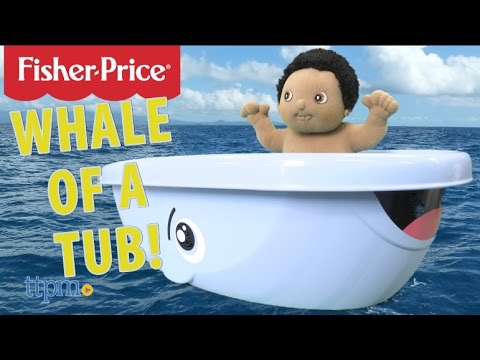 Whale Of A Tub Baby Bathtub From Fisher Price Youtube