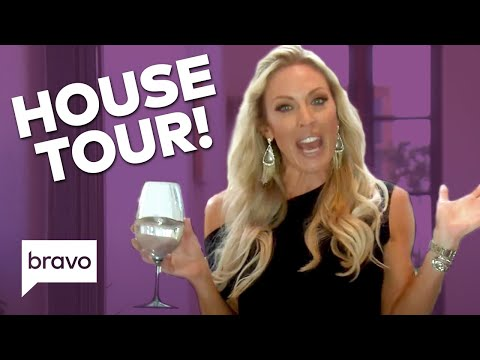 Take A Tour Of Braunwyn Windham-Burke's Beautiful Home | The Real Housewives Of Orange County