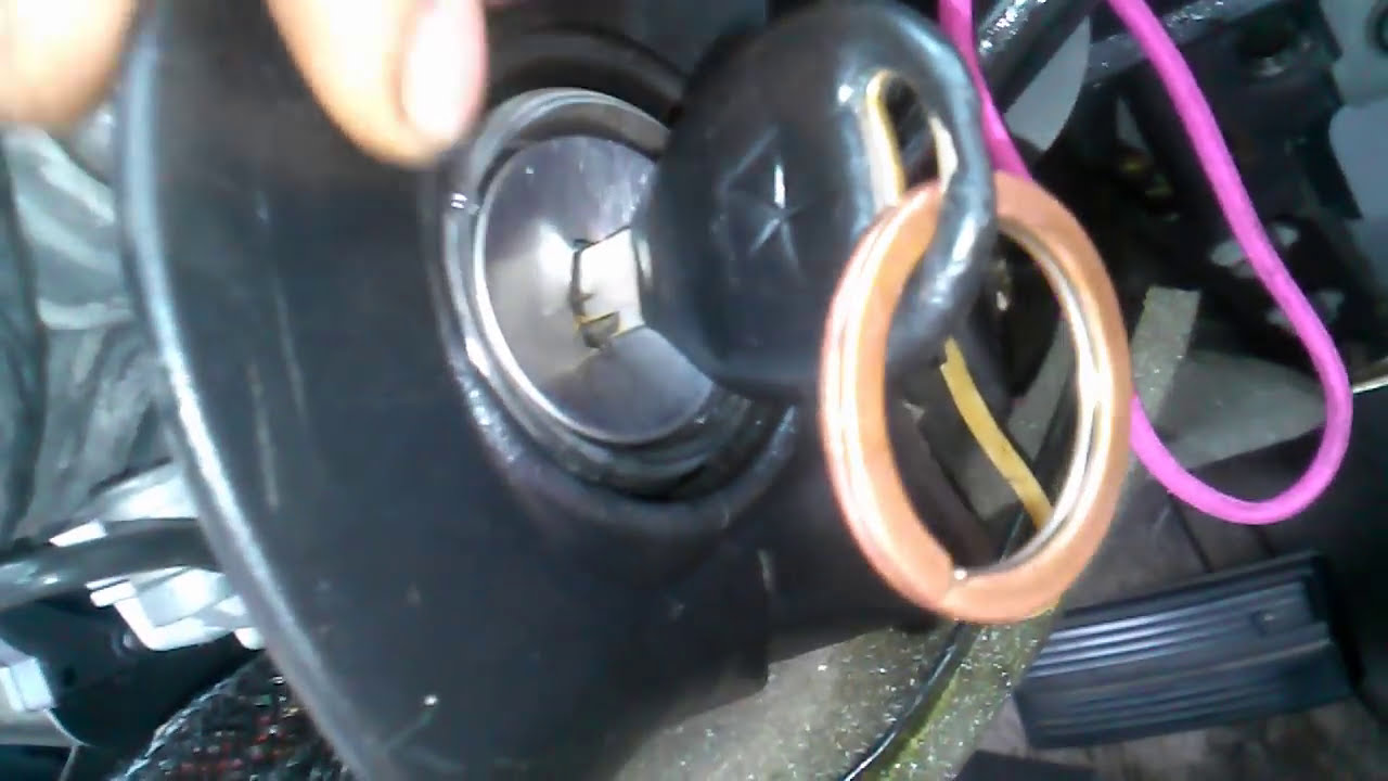how to replace ignition on dodge caravan or plymouth voyager
