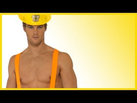 Sexy construction worker halloween