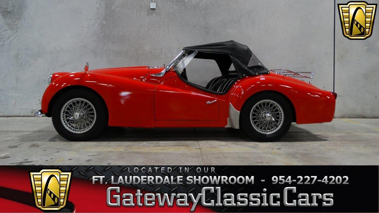 1960 Triumph Tr3 A Gateway Classic Cars Of Fort Lauderdale 75