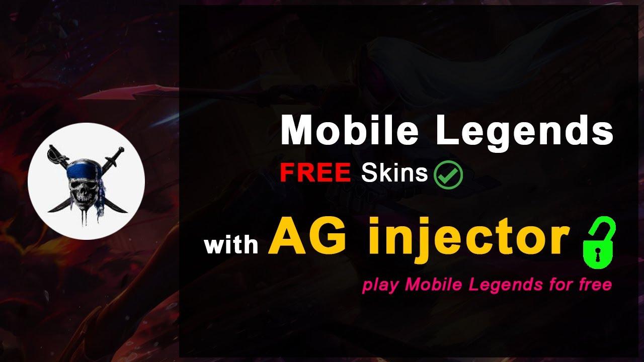 AG Injector Download For Mobile Legends Skins