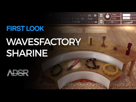 Sharine - Wavesfactory - Shakers and Tambourines for Kontakt - First Look