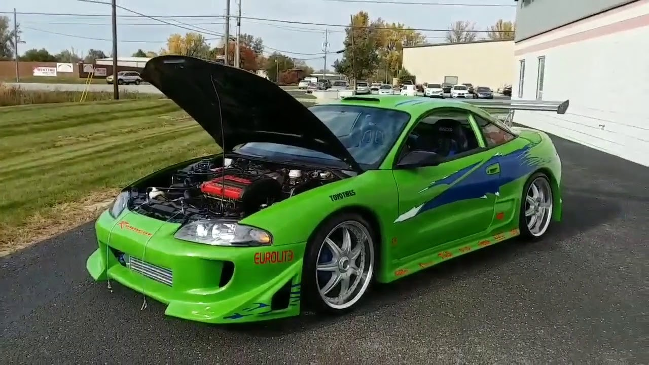 for sale the fast the furious replica 1995 mitsubishi eclipse gst paul walker tribute youtube the fast the furious replica 1995