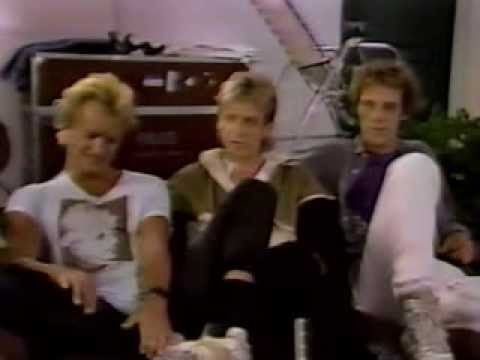 The Police MTV Year in Rock 1983 Stewart Copeland Chicago