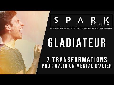 """""""GLADIATEUR: 7 transformations pour un mental d'acier"""" I Franck Nicolas"""
