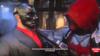 The Red Hood DLC All Cutscenes Movie (Batman Arkham Knight HD)