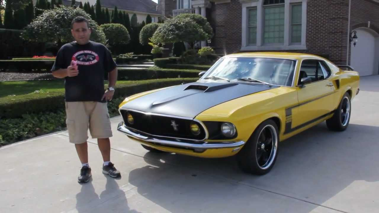 1969 ford mustang fastback 302 boss clone classic muscle car for sale in mi vanguard motor sales youtube
