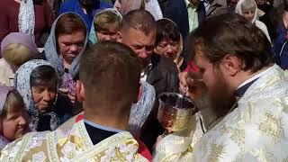 На Божій горі, що на Кременеччині, відкрилося небо над храмом
