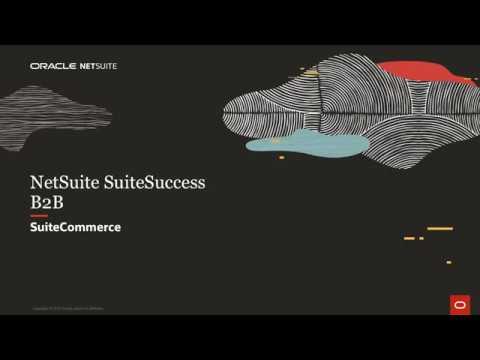NetSuite SuiteSuccess B2B SuiteCommerce